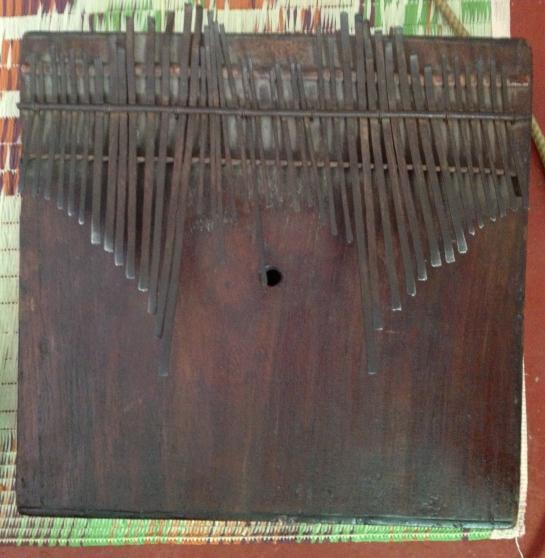The illimba, traditionally played by the Wagogo tribe of central Tanzania.
