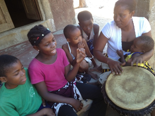 Music through the Generations - Tabu Zawose teaching music to the children